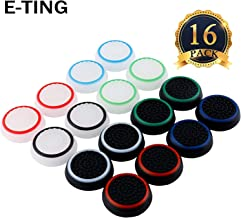 E-TING 16x Replacement Controller Analog Thumbsticks for PS2, PS3, PS4, Xbox 360, Xbox One Controller