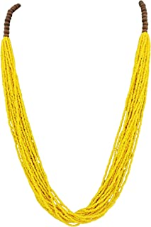 Best yellow statement necklaces Reviews