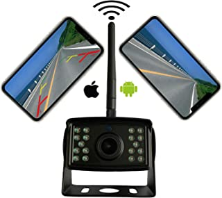 $99 » Casoda WiFi Wireless Backup Camera for iPhone and Android , Ultra Strong Signal Smooth Video FHD 1080P Clear Picture Infra...