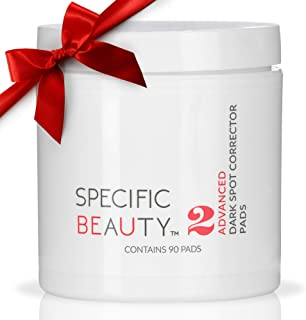 Specific Beauty – Advanced Dark Spot Correcting Pads – Resurfacing Antioxidant Brightening Treatment Infused with Botanical Extracts – 90 Day Supply/90 Pad Count (Full Size- 90 Count)