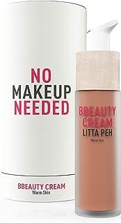 Litta Peh - BBcream - Crema facial Hidratante con Color - Tratamiento Orgánico Anti Imperfecciones - 50ml (Warm)