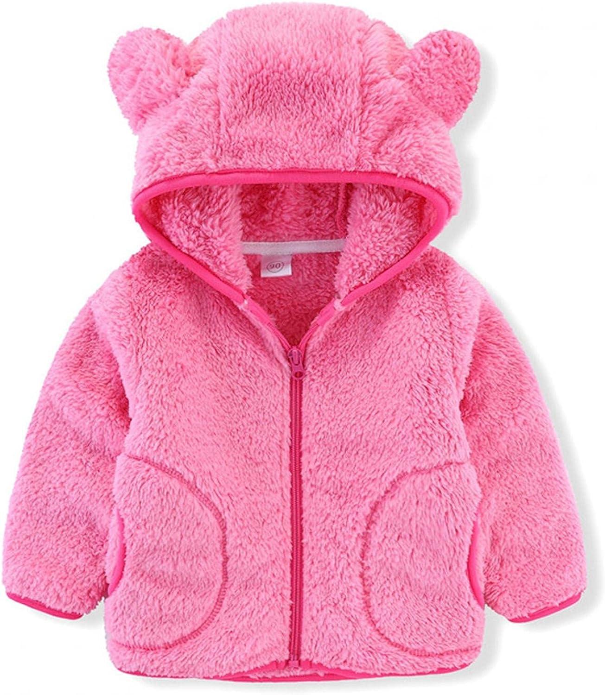 Toddler NEW Hooded Jacket Girl High order Boy Outwea Winter Sweatshirt Top Warm
