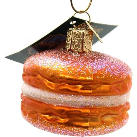 Glitter Sandwich Cookie French Macaron Ornament