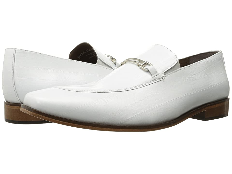 Stacy Adams Santiago Moc Toe Penny Loafer (White) Men