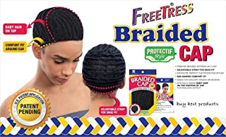 Shake N Go Freetress Braided Cap for Crochet Braids or Weaves by Freetress