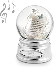 Things Remembered Personalized Inspirational Scroll Musical Snow Globe with Engraving Included