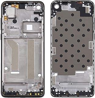 Mobile Phones Communication Accessories Front Housing LCD Frame Bezel Plate for Motorola Moto One Vision (Color : Black)