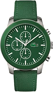 Lacoste Men's Green Dial Fabric Band Watch - 2010946