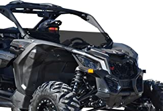 """Polaris 2019 RZR XP1000 Wings Turbo Half Windshield-1//4/"""" Thick Black Clamps"""