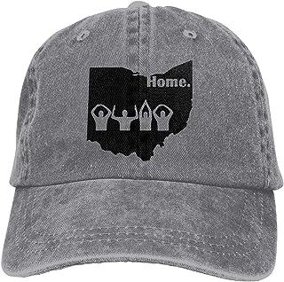 AKFJ NKJA Ohio Home State Edition Unisex Trucker Hats Dad Baseball Hats Driver Cap