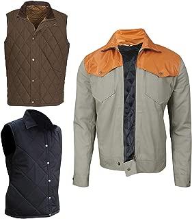 Mens Yellow Stone Dutton Cowboy Old West Kevin Cotton Jacket