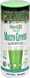 Macrolife Naturals Green Powder, 10 oz