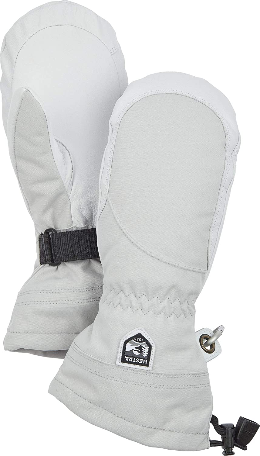Hestra Heli Ski Womens Glove - Mitten Classic It Now on sale is very popular S Snow for Leather