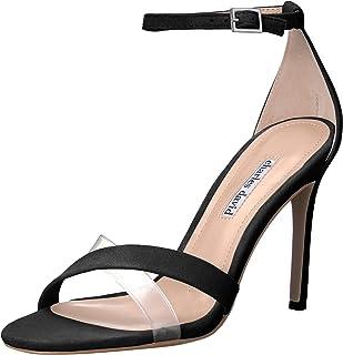 Charles David Women's Courtney Heeled Sandal, Black, 8.5 M US