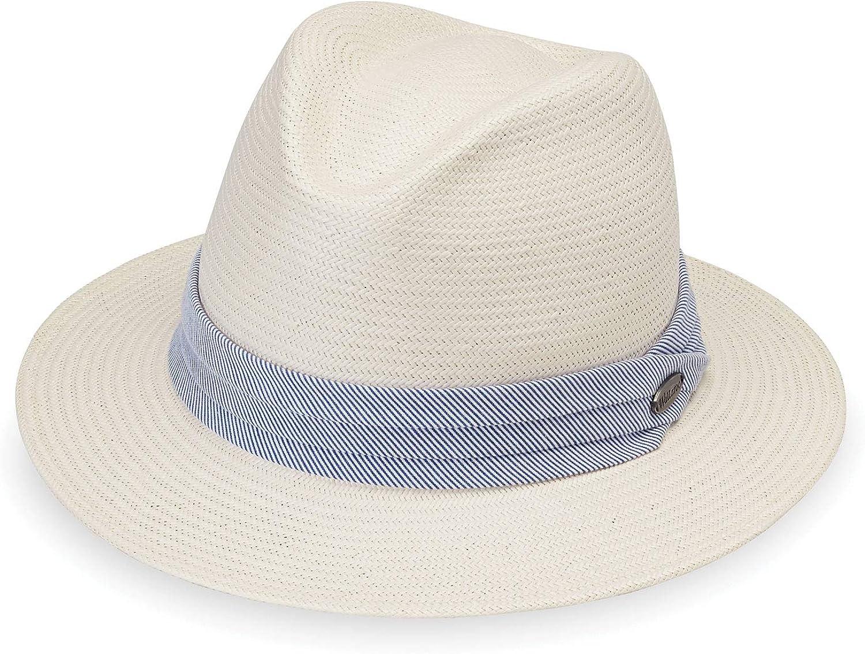 Wallaroo Hat Company Women's Monterey Fedora– Elegant Fedora, Modern Style, Designed in Australia