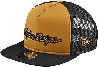 Troy Lee Designs Men's Signature Snapback Adjustable Hats,One Size,Gold