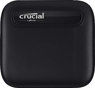 Crucial X6 外付け SSD 2TB 【PS4 動作確認済み】 3年保証 USB Type-C 最大読込速度540MB/秒 正規代理店保証品 CT2000X6SSD9