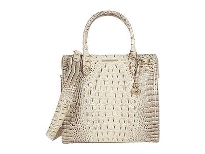 Brahmin Melbourne Caroline Satchel (Savino) Handbags