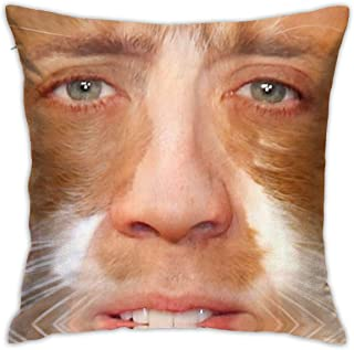 Nicolas Cage Custom Soft Pillow Case& Polyester Square Zippered Cushion Throw Case Decorative Pillow Case (Twin Sides) Single