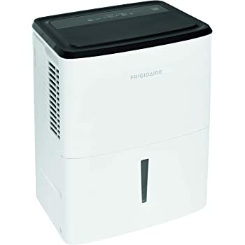 Frigidaire, White 22-Pint Dehumidifier with Effortless Humidity Control