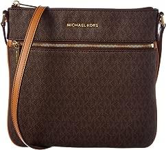 MICHAEL Michael Kors Bedford Signature Flat Cross-Body Bag