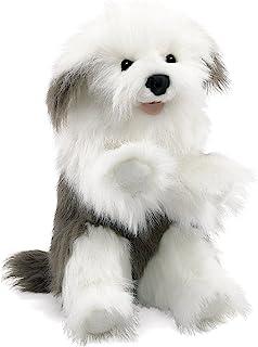 Folkmanis Sheepdog Hand Puppet