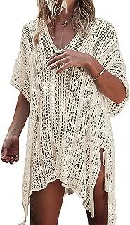 Bathing Suit Cover Up Biniki Swimsuit Crochet Beachwear Swimwear Dress