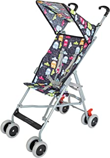 Moon Jet-Ultra light weight/Compact fold Buggy Stroller/pram,-Suitable for kids ( from 6 months to 3 years) -- Cars, black