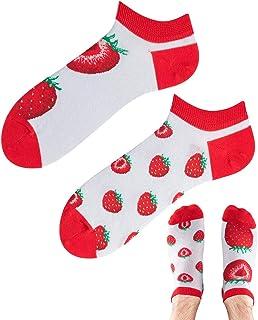 TODO COLOURS - Calcetines tobilleros con diseño de frutas