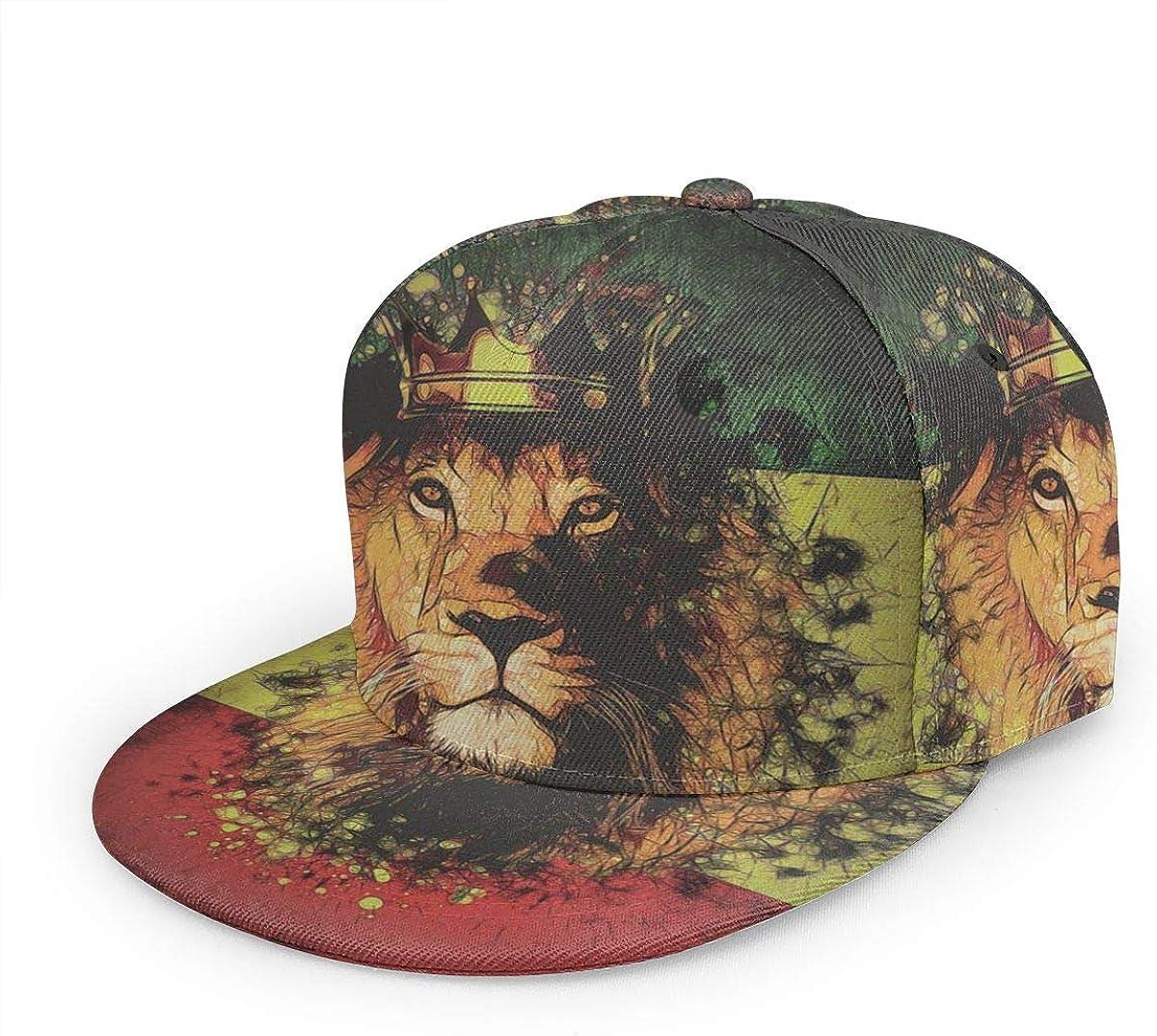 Surprise price Msanlixian Unisex Adjustable Baseball Cap King Reggae Rast 67% OFF of fixed price Crown