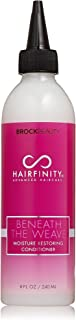 Hairfinity Beneath the Weave Moisture Restoring Conditioner To Nourish, Soothe & Protect Your Scalp With Essential Oils, Botanicals & Antioxidant Ingredients 8 oz