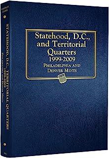 Whitman US Statehood Quarter with D.C. & Territories Coin Album 1999 - 2009 #2821
