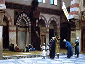 Jean-Leon Gerome Prayer in the Mosque of Caid Bey in Cairo - 18