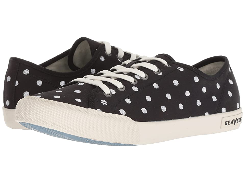 SeaVees Monterey Embroidery (Black Dot) Women
