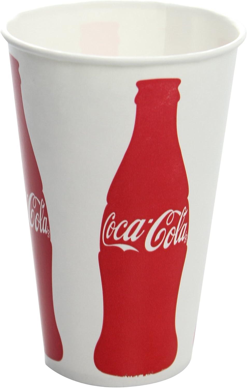 Karat C-KCP12(Coke) 12 oz Paper Cold Cup (84mm Diameter), Coca-Cola  Print(Pack of 1000)