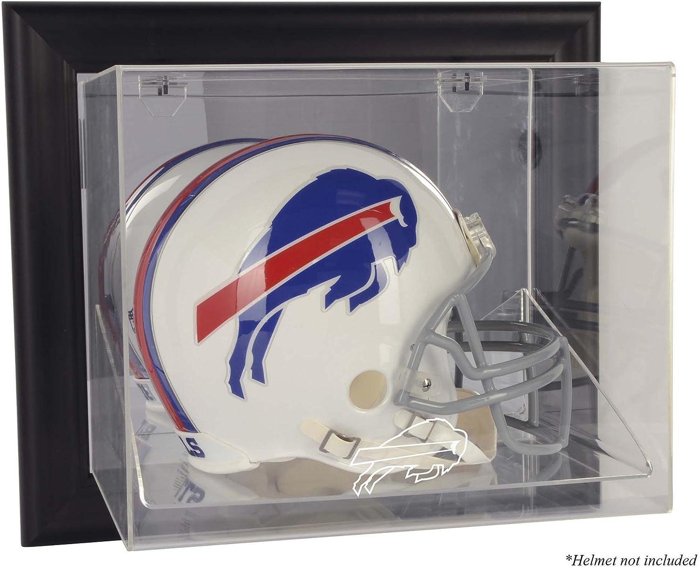 Buffalo Bills Black Framed Wall Mounted Fo Helmet Display Sales Case - 35% OFF