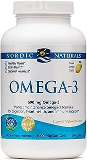 Nordic Naturals Omega-3 Lemon 1 000 mg/180 softgels