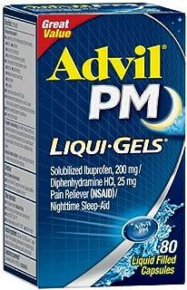 Advil PM Ibuprofen 200 mg Liqui-Gels 80 ea