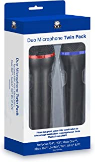 Universal Duets Duo Twin Usb Microphone Pack /ps4