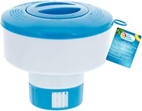 "U.S. Pool Supply Pool Floating Collapsible Chlorine 3"" Tablet Chemical Dispenser, 7"" Diameter Floater- Adjustable Balanced Chemical Delivery"