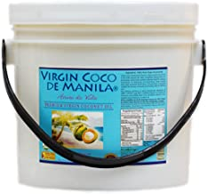 Organic 100% Virgin Coconut Oil - 1 Gallon (128 Oz / 3.79 Liters) Certified Organic, Transfat Free, NO BLENDS : 1 Extraction Method, 1 Factory Location : No risk mixing other oil types, Manila Coco Factory Brand