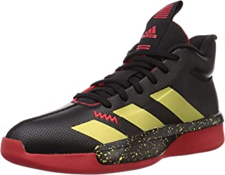 adidas Pro Next 2019 Gca, Men's Basketball Shoes, Black (Core Black/Gold Met./Scarlet)