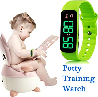 Potty Training Watch Baby Reminder Water Resistant Timer - Potty Trainer for Toilet Training Boys and Girls,Newly Improved 2019-THE Range of Ringing TIME-9 Songs Loops(LED Screen)