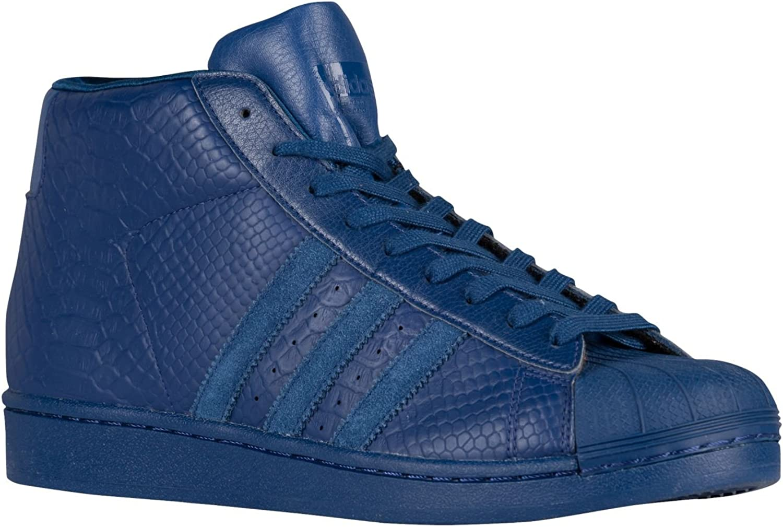 Adidas Men's Pro Model Basketball shoes (9.5) blueee