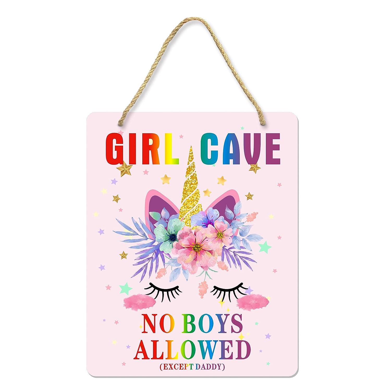 Uflashmi Girl Cave Sign 2021 Little Bedroom Room Decor shop Wal Baby