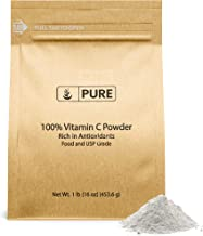 Pure Vitamin C Powder (1 lb) Eco-Friendly Packaging, Ascorbic Acid, DIY Skin Care, Antioxidant*