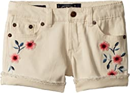 Lucky Brand Kids - Bobbi Denim Shorts in Natural (Little Kids)