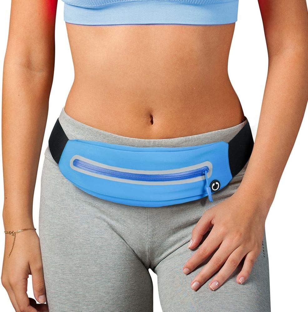 PONRAY Running Belt Fanny Packs Phone for Oklahoma City Mall Holder Runner W Don't miss the campaign Pocket