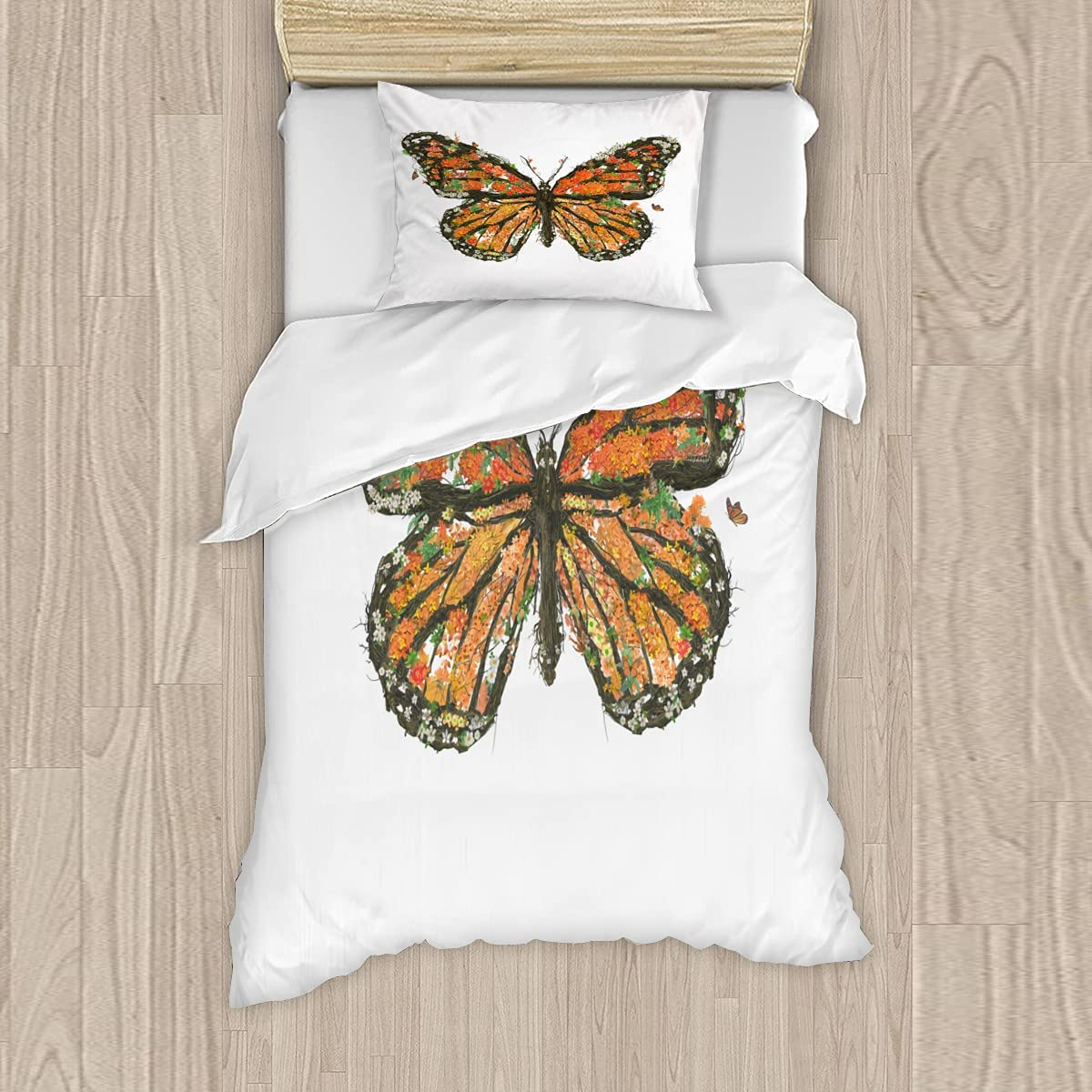 Factory outlet Save New mail order The Monarchs Bedding Sets 3 Quil Pieces Printed Quilt Cover