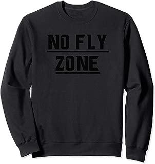No Fly Zone Football Defense TShirt Sweatshirt